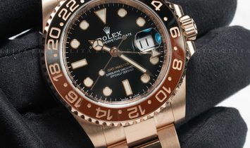 """Rolex GMT-Master II 126715CHNR-0001 """"Root Beer"""" Everose Gold"""
