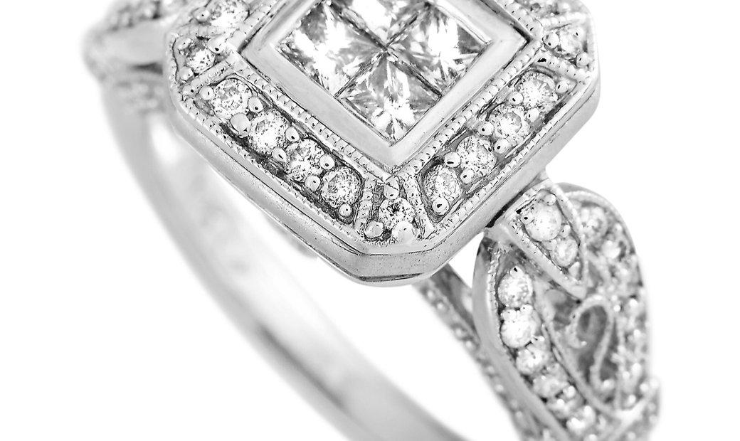 LB Exclusive LB Exclusive 14K White Gold 1.00 ct Diamond Ring