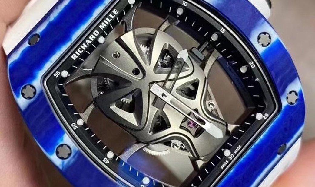 Richard Mille [NEW][LIMITED 18 PIECE] RM 52-06 Mask Blue Carbon Tourbillon