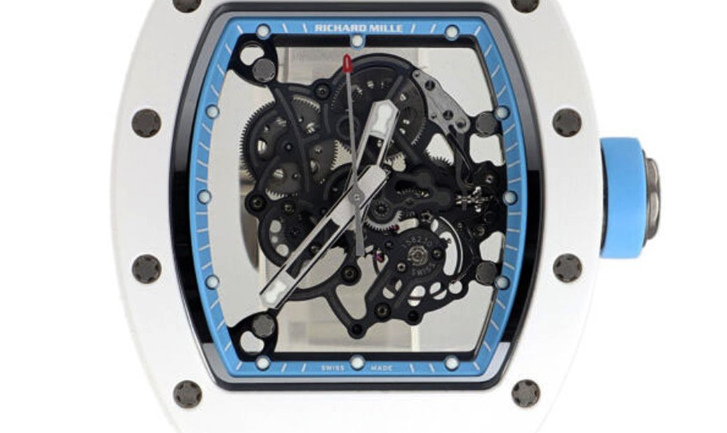 Richard Mille RM 055 Asia Edition Ceramic Manual Watch