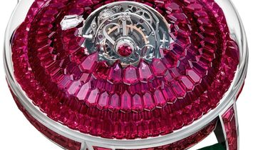 Jacob & Co. 捷克豹 [NEW MODEL] Mystery Twin Central Tourbillon Ruby