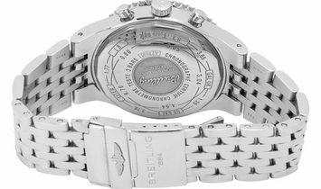 Breitling Montbrillant A23351, Baton, 2017, Very Good, Case material Steel, Bracelet ma