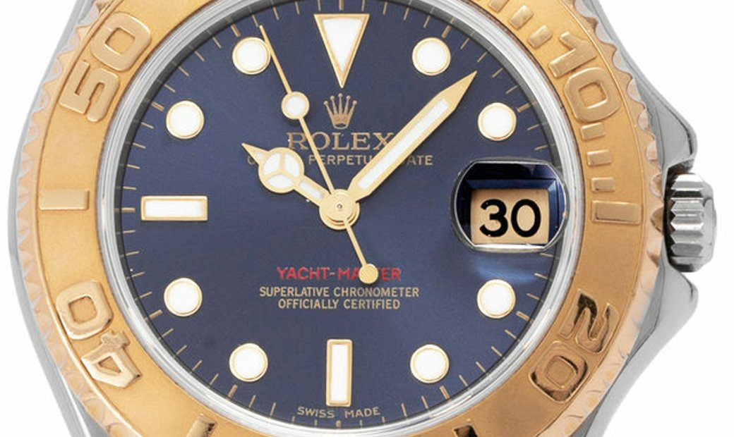 Rolex Yacht-Master 168623, Baton, 2006, Good, Case material Steel, Bracelet material: S