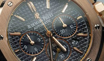 Audemars Piguet Royal Oak 26320OR.OO.1220OR.01 Pink Gold Black Dial