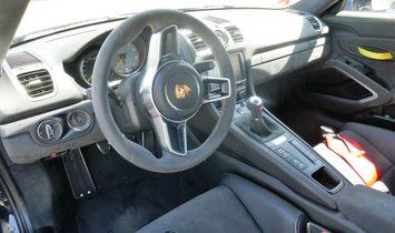 Porsche Cayman GT4 Clubsport package Akrapovic Exhaust