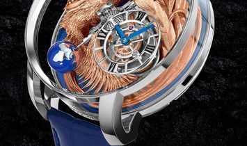 Jacob & Co. 捷克豹 [NEW MODEL] Astronomia Art Phoenix Tourbillon