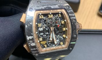 Richard Mille [NEW][LIMITED 15 PIECE] Asia Edition Carbon Split Seconds Chronograph RM 004-V3