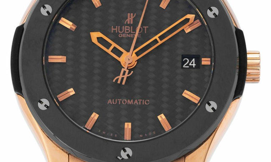Hublot Classic Fusion  511.PM.1780.RX, Baton, 2015, Good, Case material Rose Gold, Brac
