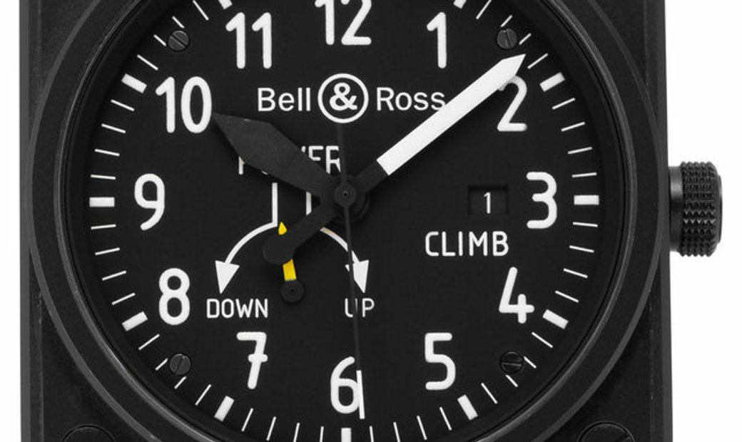 Bell and Ross Climb BR01-97-SCL, Arabic Numerals, 2018, Good, Case material Steel, Brac