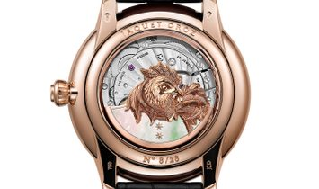 Jaquet Droz Petite Heure Minute Relief Rooster J005023282 (Retail:CHF 70'200)