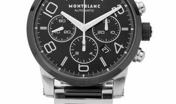 Montblanc TimeWalker M29430, Arabic Numerals, 2011, Used, Case material Steel, Bracelet