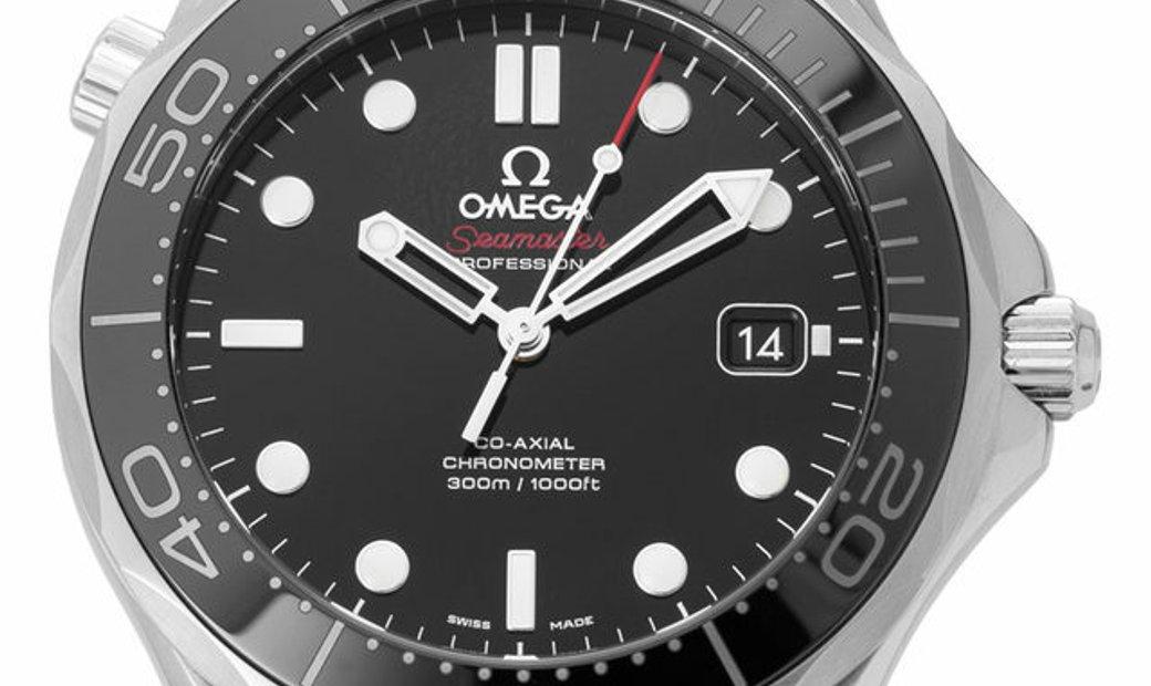 Omega Seamaster Diver 300 M 212.30.41.20.01.003, Baton, 2018, Good, Case material Steel