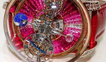 Jacob & Co. 捷克豹 [NEW] Astronomia Tourbillon Baguette Ruby Degrade AT800.40.BD.UE.B