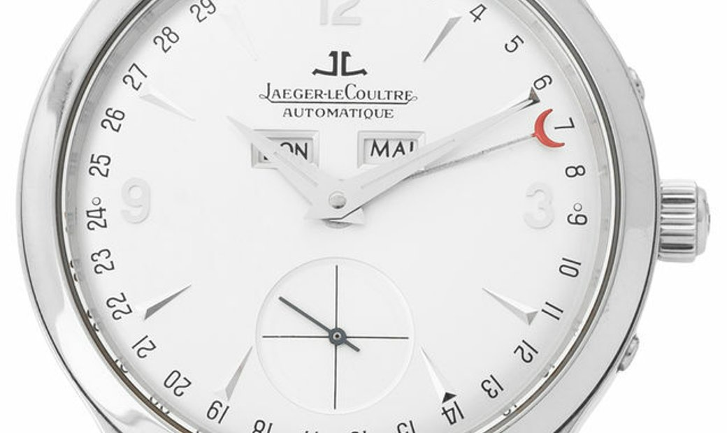 Jaeger-LeCoultre Master Calendar 140.8.87, Arabic Numerals, 2000, Very Good, Case mater
