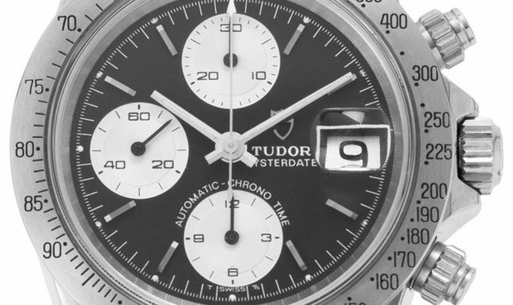 Tudor Oysterdate Big Block 94300, Baton, 1986, Very Good, Case material Steel, Bracelet