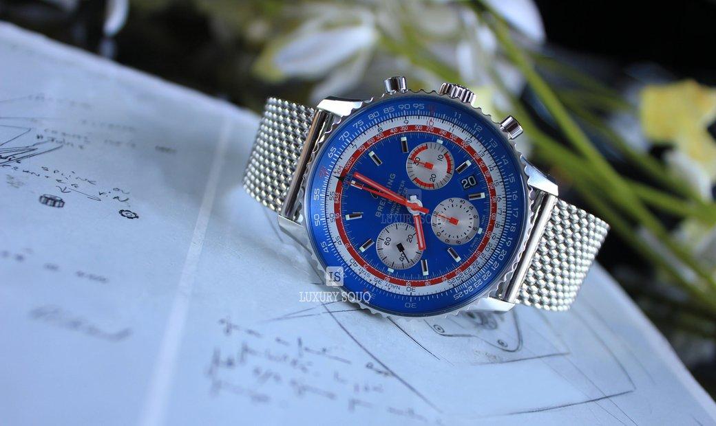 Breitling Navitimer 1 B01 Chronograph 43 Pan Am (UN) AB01212B1C1A1