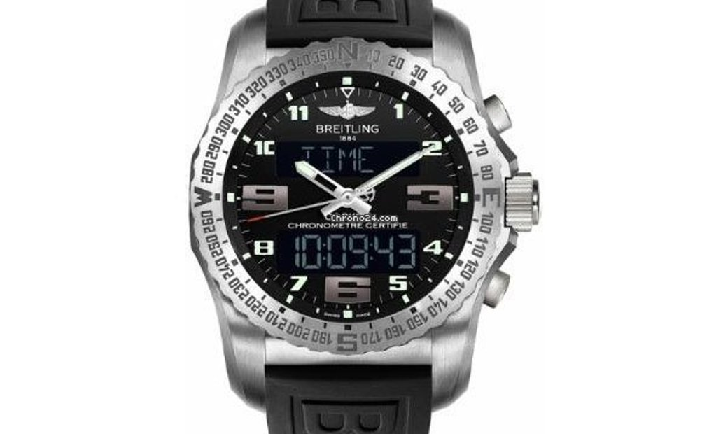 Breitling Automatik Chronograph Lcd Display Armband Mit EB501022.BD40.176E