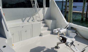Viking 72 Enclosed Bridge