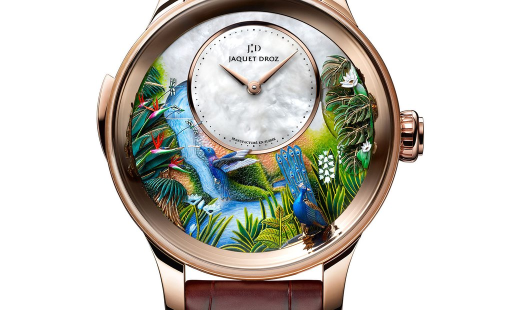 Jaquet Droz [LIMITED 8 PIECE] Tropical Bird Repeater J033033202 (Retail:CHF 626'400)