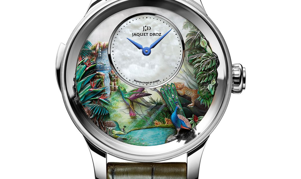 Jaquet Droz [LIMITED 8 PIECE] Tropical Bird Repeater J033034200 (Retail:CHF 680'400)