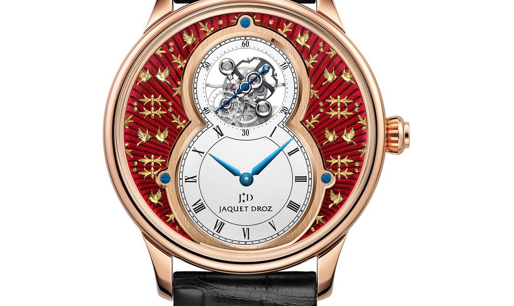 Jaquet Droz [LIMITED 8 PIECE] Grande Seconde Tourbillon Paillonnée J013033243 (Retail:CHF 122'600)