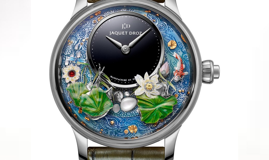 Jaquet Droz [LIMITED 28 PIECE] Magic Lotus Automaton J032634270 (Retail:CHF 216'000)