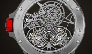 Roger Dubuis [NEW] Excalibur Spider Double Flying Tourbillon Red RDDBEX0481 (Retail: US$269,000)