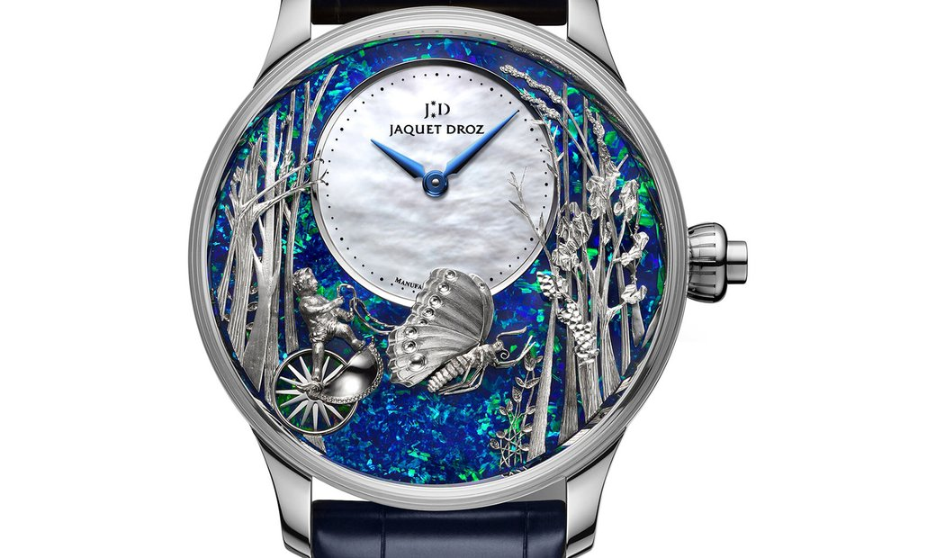 Jaquet Droz [LIMITED 1 PIECE] Loving Butterfly Automaton J032534273 (Retail:CHF 205'200)