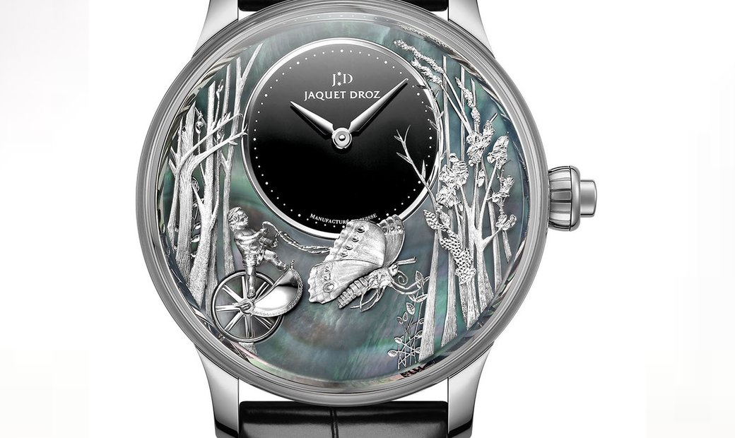 Jaquet Droz [LIMITED 28 PIECE] Loving Butterfly Automaton J032534270 (Retail:CHF 129'600)