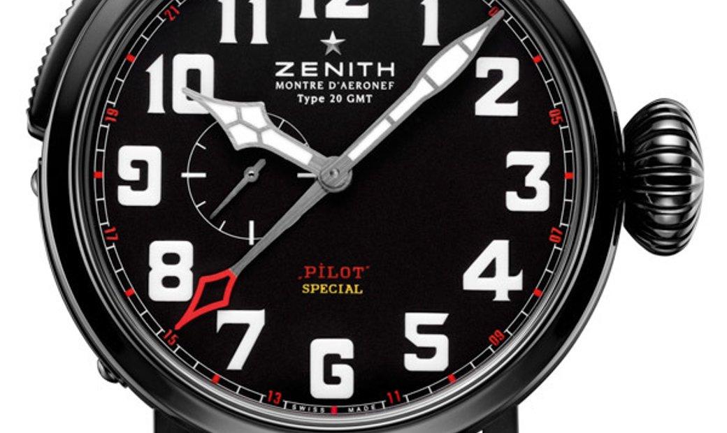 Zenith Type 20 Gmt Pilot Montre (UN-C) 96.2430.693/21.C703