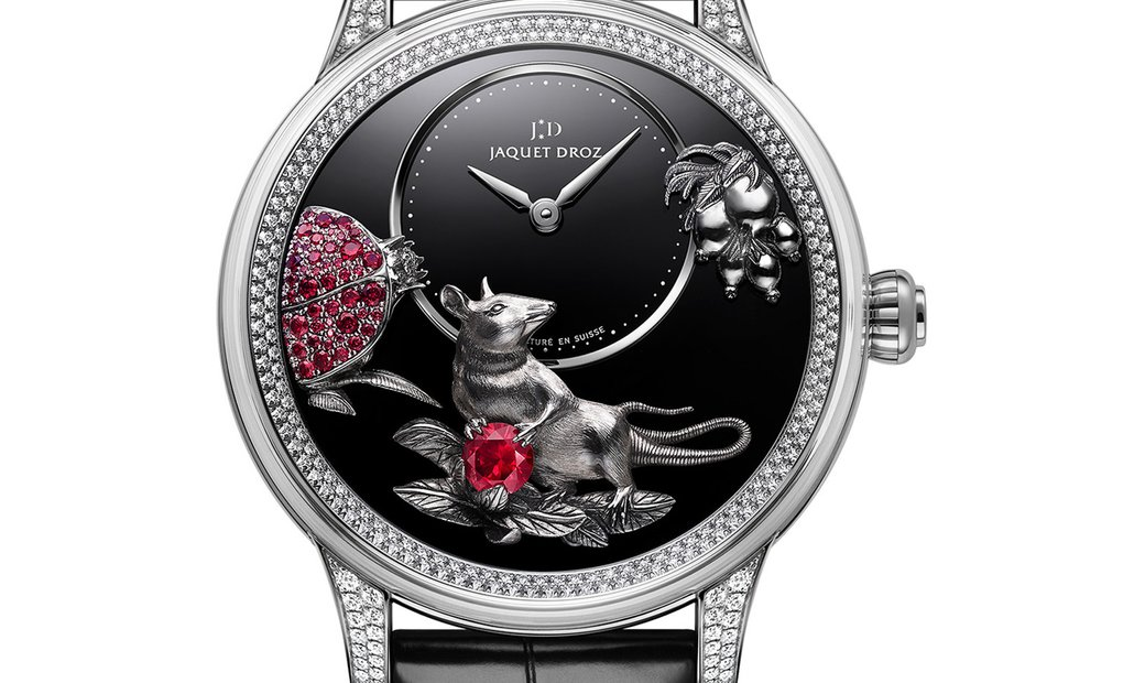 JAQUET DROZ [LIMITED 8 PIECE] Petite Heure Minute Relief Rat J005024285 (Retail:CHF 81'900)