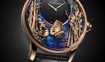 Jaquet Droz [LIMITED 1 PIECE] Loving Butterfly Automaton J032533274 (Retail:CHF 205'200)
