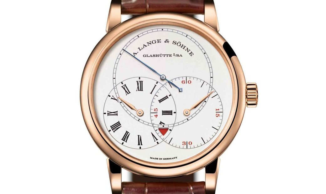 A. Lange & Söhne [LIMITED 100 PIECE] Richard Lange Jumping Seconds 252.032 (Retail: US$78,600)