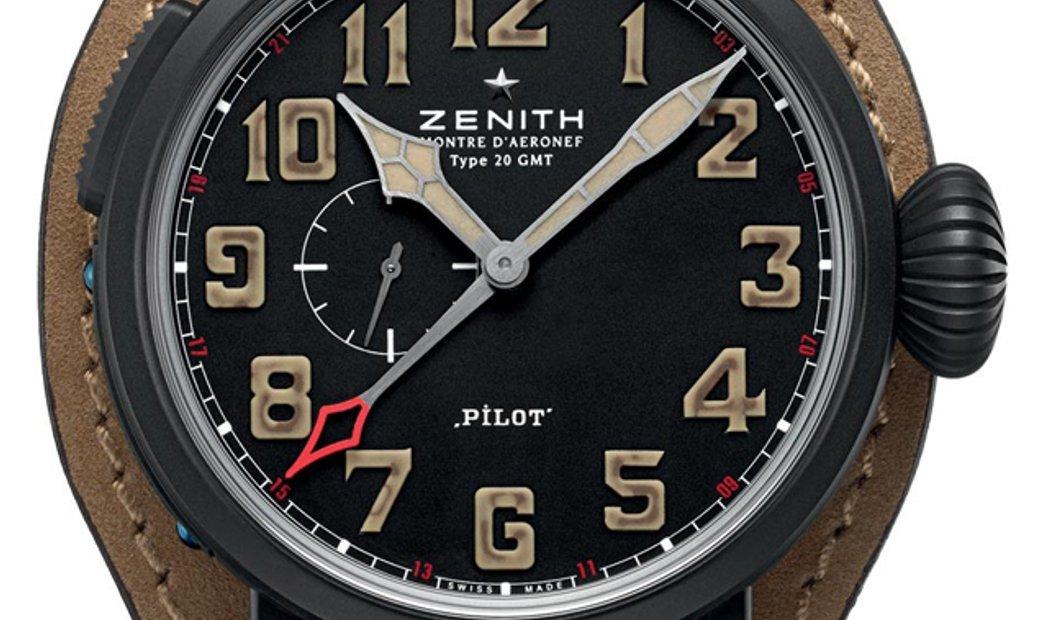 Zenith Pilot Type 20 Gmt (UN-C) 96.2431.693/21.c738