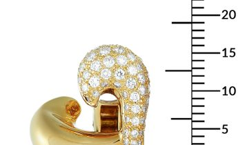 Van Cleef & Arpels Van Cleef & Arpels 18K Yellow Gold ~1.10 ct Diamond Earrings