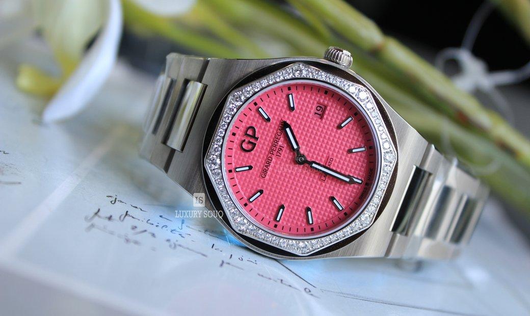 Girard Perregaux Summer Limited Edition Women's Watch Laureato (UN) 80189D11A182211A