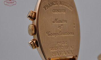 Franck Muller Havana Chronograph Yellow Gold