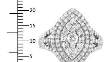 LB Exclusive LB Exclusive 14K White Gold 1.65 ct Diamond Marquise Ring