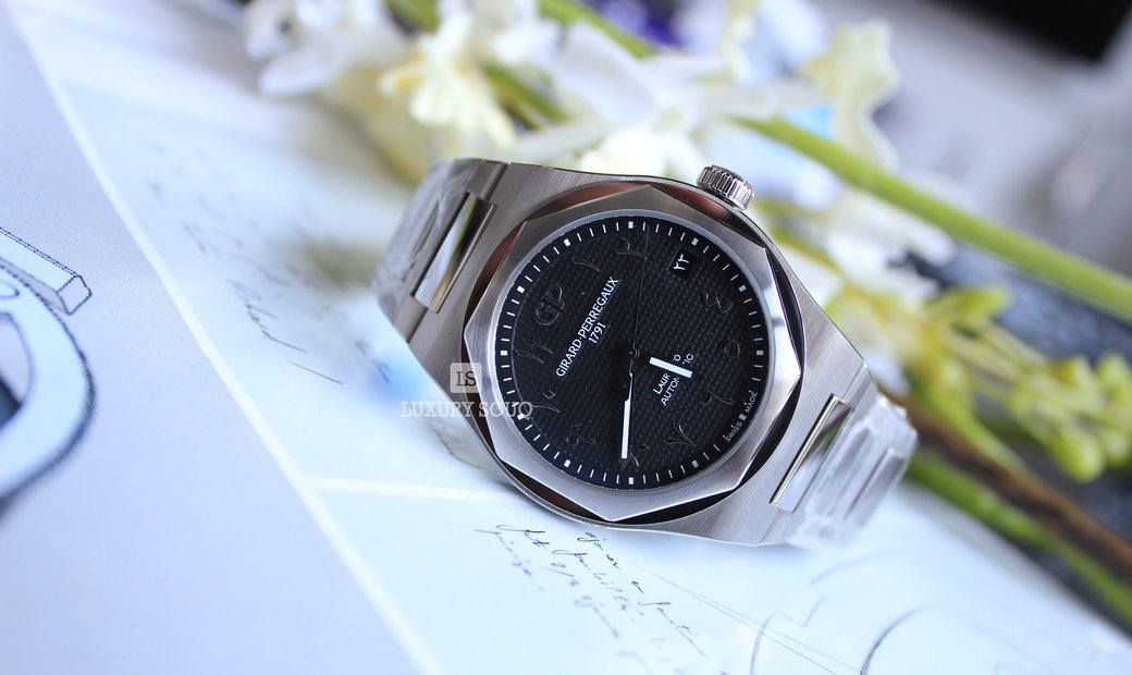 Girard Perregaux Laureato Arabic DIAL Black Limited Edition 81010-11-1750-11A