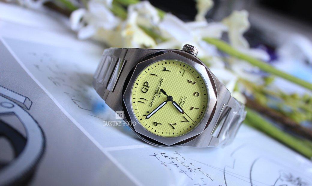 Girard Perregaux Laureato Arabic dial Limited Edition 81010-11-1744-11A