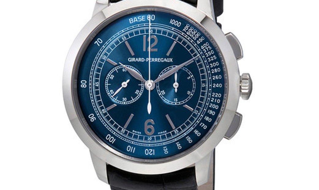 Girard Perregaux CHRONOGRAPH BLUE DIAL (BAR) 49539-53-451-BK6A