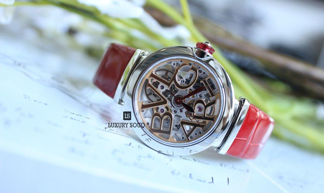 Bvlgari LVCEA Skeleton Watch (UN) 102879