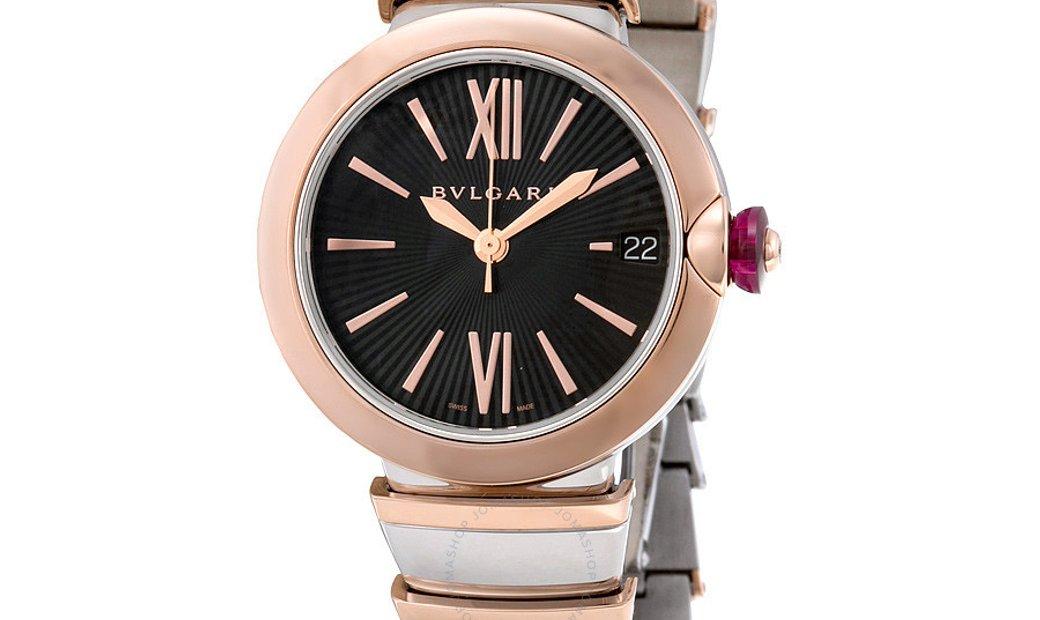 Bvlgari Lucea Automatic 33mm Ladies Watch 102192 LU33BSPGSPGD