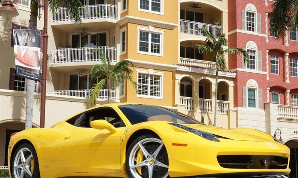 2013 Ferrari 458 In Naples Florida United States For Sale 11092511