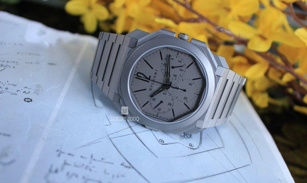 Bvlgari Octo Watch (UN) 103068 BGO42C14TTXTCHGMT