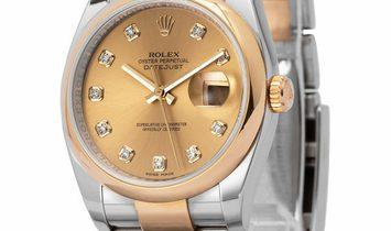Rolex Datejust 116203, Baton, 2006, Good, Case material Steel, Bracelet material: Steel