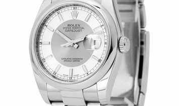 Rolex Datejust 116200, Baton, 2007, Very Good, Case material Steel, Bracelet material: