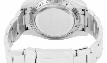 Rolex Milgauss 116400GV, Baton, 2014, Very Good, Case material Steel, Bracelet material
