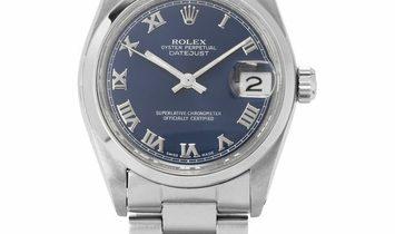 Rolex Datejust 6824, Roman Numerals, 1982, Good, Case material Steel, Bracelet material