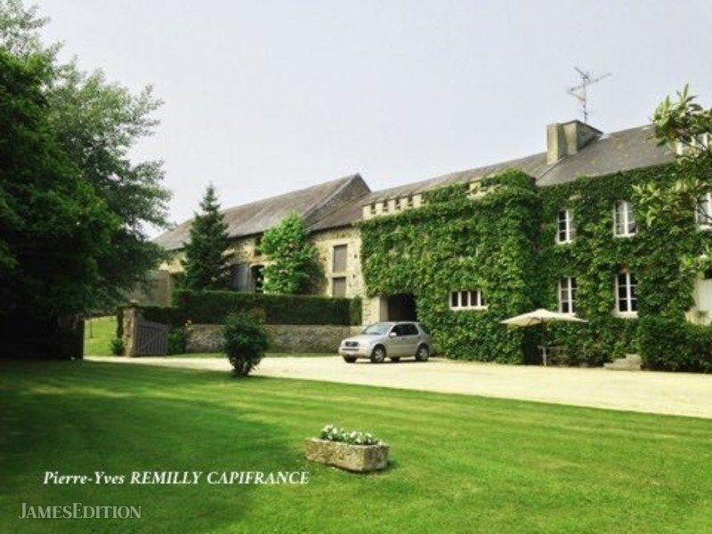 Castle in Saint-Lô, Normandy, France 1
